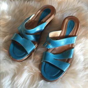 Dansko slip on sandals size 39